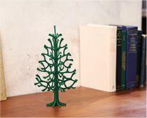 【インテリア雑貨特集】lovi ミニツリー もみの木25cm ダークグリーン | 玄関やリビング、キッチンの空きスペースなどにさりげなく飾りたい