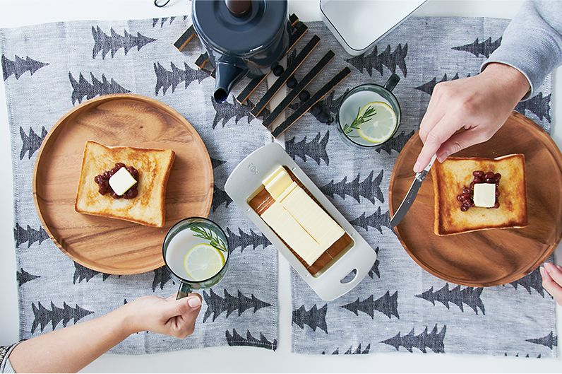 【インテリア雑貨特集】Fine Little Day ジャガードリネンランチョンマット | ジャガード織りの上品な質感のランチョンマット