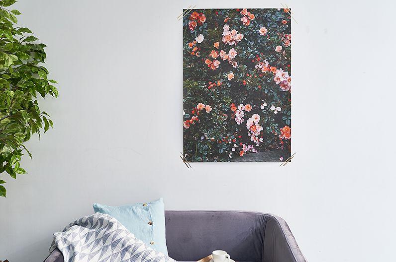 【インテリア雑貨特集】Fine Little Day ポスター RED ROSES | Elisabeth Dunker(エリーサベット・デュンケル)によって撮影されたポスター